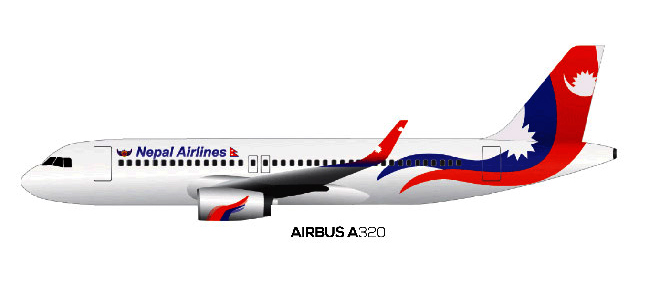 Nepal-Airlines-Airbus