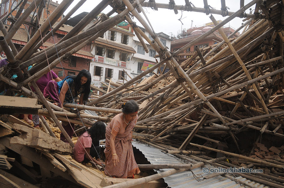 Basantapur after Earth quake  (9)