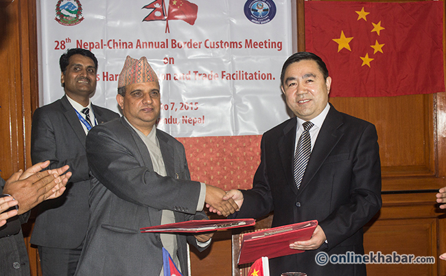 Nepal,-China-sign-20-point-MoU-to-open-seven-new-trade-routes
