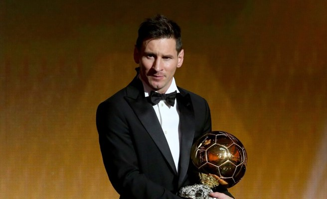 Messi win balon d or