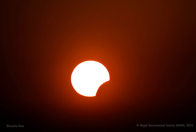 Solar-Eclips-from-Nagarkot-Nepal