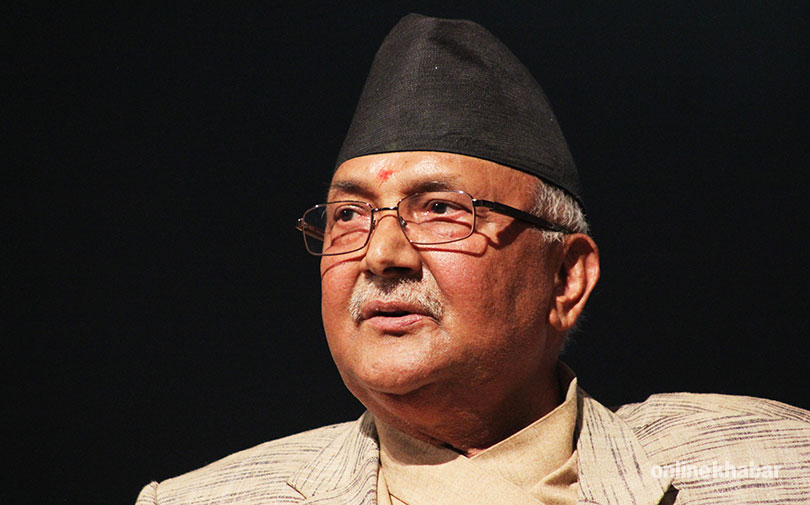 KP-Sharma-Oli, Chairman of UML