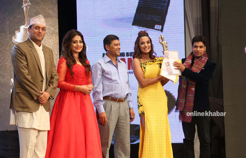 surkhe thaili got award